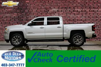 2017_Chevrolet_Silverado 1500_4x4 Crew Cab LT Z71 True North Leather Bcam_ Red Deer AB