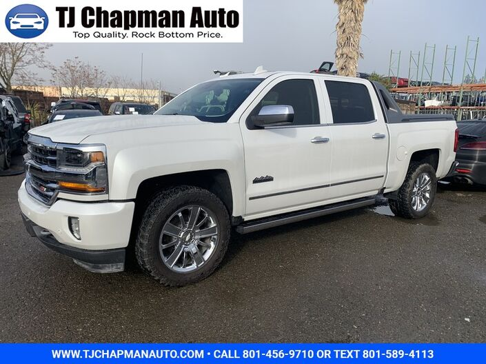 2017 Chevrolet Silverado 1500 High Country High Desert Salt Lake City UT