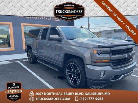 2017_Chevrolet_Silverado 1500_LT 4WD ** Pohanka Certified 10 Year / 100,000  **_ Salisbury MD