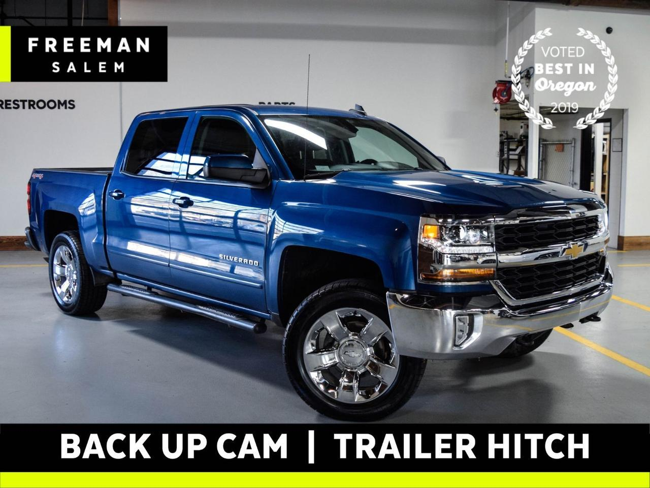 2017 Chevrolet Silverado 1500 LT 4WD Locally Owned 6-Passenger Seating Salem OR
