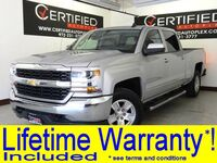 Chevrolet Silverado 1500 LT CREW CAB 4WD 5.3L V8 ECOTEC3 NAVIGATION VIA APPLE CARPLAY ANDROID AUTO 2017