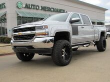 2017_Chevrolet_Silverado 1500_LT Crew Cab 4WD BLUETOOTH, APPLE CAR PLAY, BACK UP CAM, LIFTED, 20X12 WHEELS WITH 35IN TIRES_ Plano TX