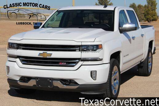 2017 Chevrolet Silverado 1500 LTZ Lubbock TX