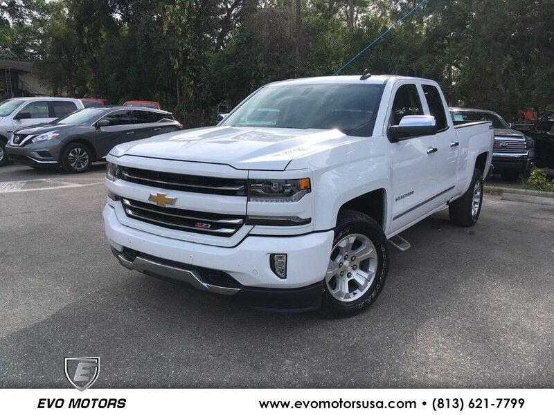 2017 Chevrolet Silverado 1500 LTZ V8 4X4 W/ 2LZ W/ Z71 OFF ROAD AND APPEARANCE PKG Seffner FL