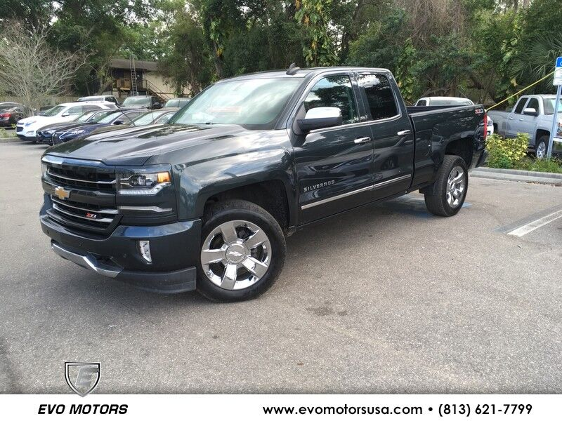 2017 Chevrolet Silverado 1500 LTZ V8 4X4 W/ 2LZ W/ Z71 OFF ROAD AND LTZ PLUS PKG. 20 INCH CHROME WHEELS PKG Jacksonville FL