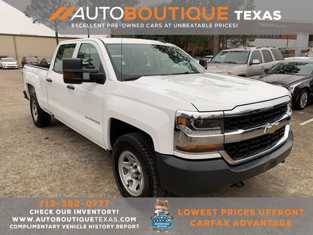 2017 Chevrolet Silverado 1500 Work Truck Houston TX