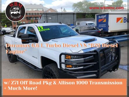 2017_Chevrolet_Silverado 2500HD_4x4 Crew Cab LT w/ Z71_ Arlington VA