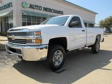 2017_Chevrolet_Silverado 2500HD_Work Truck 4WD Backup Camera, Daytime Running Lights, STILL UNDER FACTORY WARRANTY**, Front Tow Hook_ Plano TX