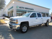 2017_Chevrolet_Silverado 2500HD_Work Truck Crew Cab Long Box 4WD*FRONT TOW HOOKS,TURBOCHARGED_ Plano TX