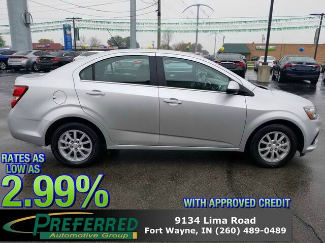2017 Chevrolet Sonic LT Fort Wayne Auburn and Kendallville IN