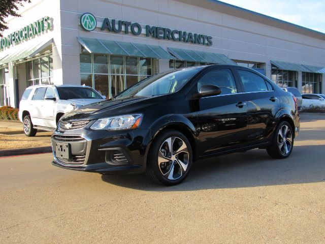 2017 Chevrolet Sonic Premier 1.4L 4CYL AUTOMATIC, PUSH BUTTON START, HEATED STEERING WHEEL, BACKUP CAMERA, HEATED SEATS Plano TX