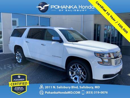 2017_Chevrolet_Suburban_LT 4WD ** Pohanka Certified 10 Year / 100,000  **_ Salisbury MD