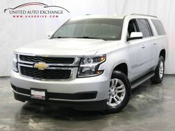 2017_Chevrolet_Suburban_LT / 5.3L 8-Cyl Engine / Navigation / Bluetooth / Parking Aid with Rear View Camera / Bose Premium Sound System / Heated Leather Seats_ Addison IL