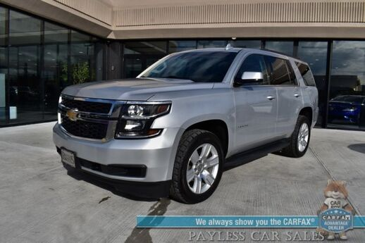 2017 Chevrolet Tahoe LT / 4X4 / 5.3L V8 / Auto Start / Power & Heated Leather Seats / Bose Speakers / Navigation / Lane Departure Alert / Bluetooth / Back Up Camera / 3rd Row / Seats 8 / Tow Pkg Anchorage AK