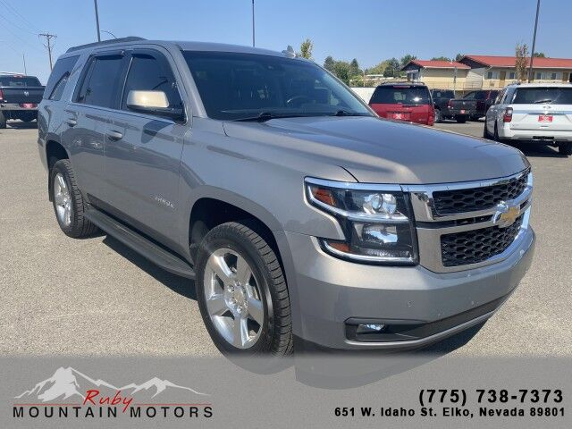 2017_Chevrolet_Tahoe_LT_ Elko NV