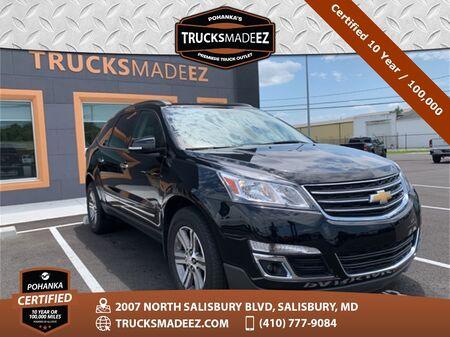 2017_Chevrolet_Traverse_LT 1LT AWD ** Pohanka Certified 10 Year / 100,000  **_ Salisbury MD