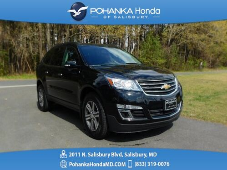 2017_Chevrolet_Traverse_LT AWD ** THREE ROW SEATING ** GUARANTEED FINANCING *_ Salisbury MD