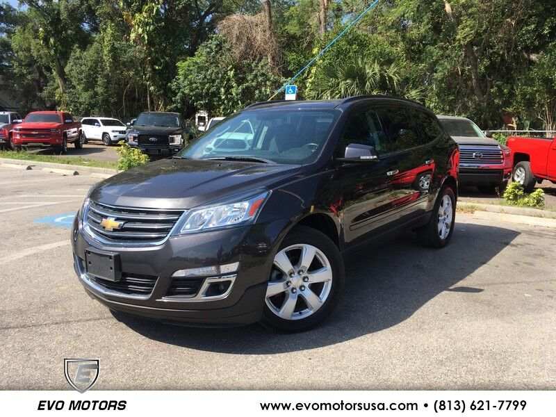 2017 Chevrolet Traverse LT AWD W/ STYLE AND TECH PKG. 20'S Seffner FL