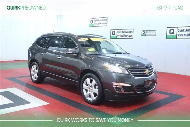 2017 Chevrolet Traverse LT AWD w/ Sunroof, Captain Chairs, Back-Up Camera, Remote Start Braintree MA