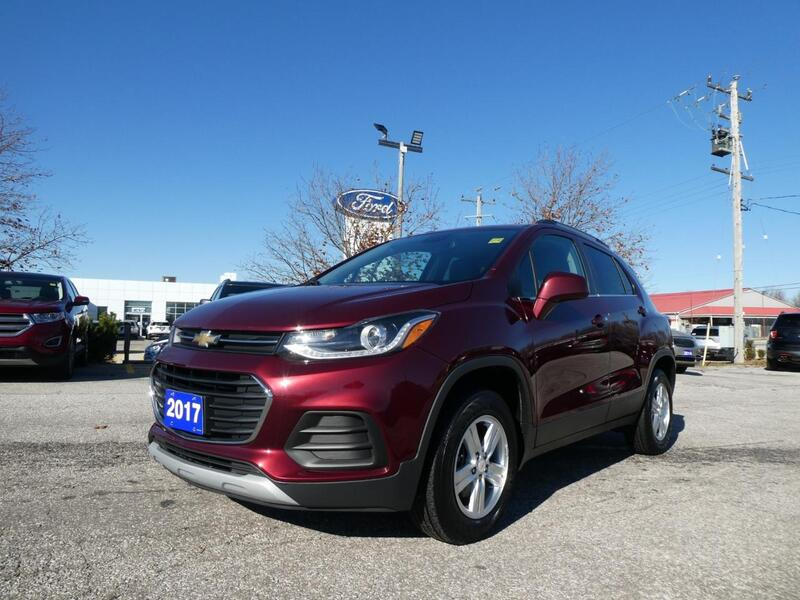 2017 Chevrolet Trax LT Sunroof Remote Start Back Up Cam Essex ON