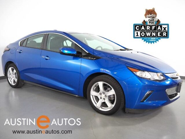 2017 Chevrolet Volt LT *BACKUP-CAMERA, COLOR TOUCH SCREEN, HEATED SEATS, REMOTE START, CRUISE CONTROL, ALLOY WHEELS, BLUETOOTH, APPLE CARPLAY Round Rock TX