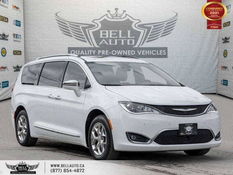 2017 Chrysler Pacifica Limited, NO ACCIDENT, 7 PASS, NAVI, 360 CAM, PANO ROOF