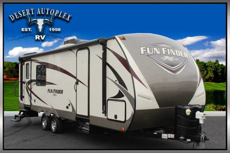 2017 Cruiser Fun Finder 24RK Single Slide Travel Trailer Mesa AZ