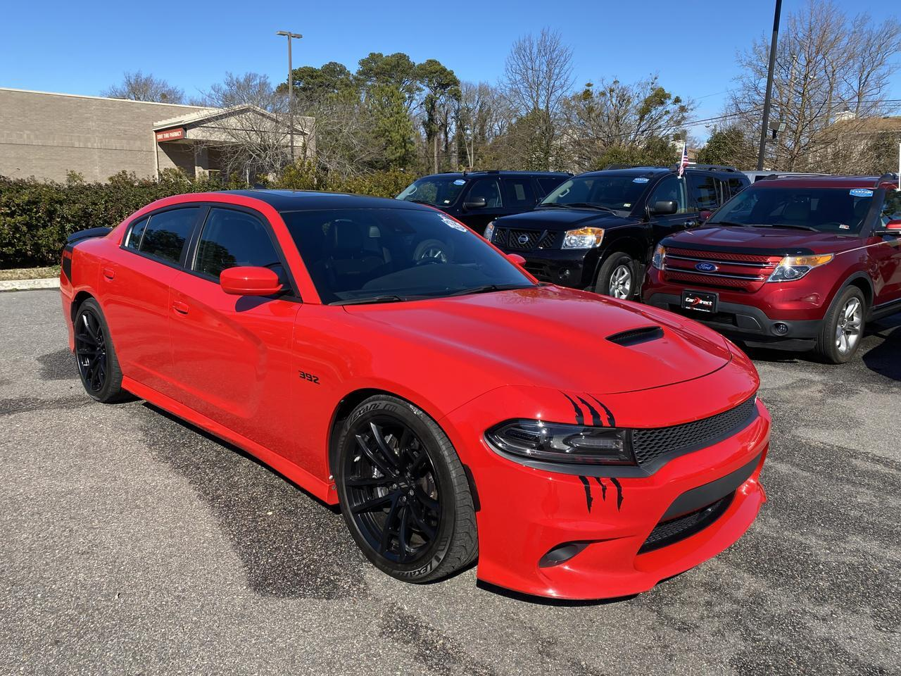 2017 DODGE CHARGER R/T 392 DAYTONA RWD, ONE OWNER, BEATS SOUND SYSTEM, REMOTE START, SUNROOF, ONLY 34K MILES! Virginia Beach VA