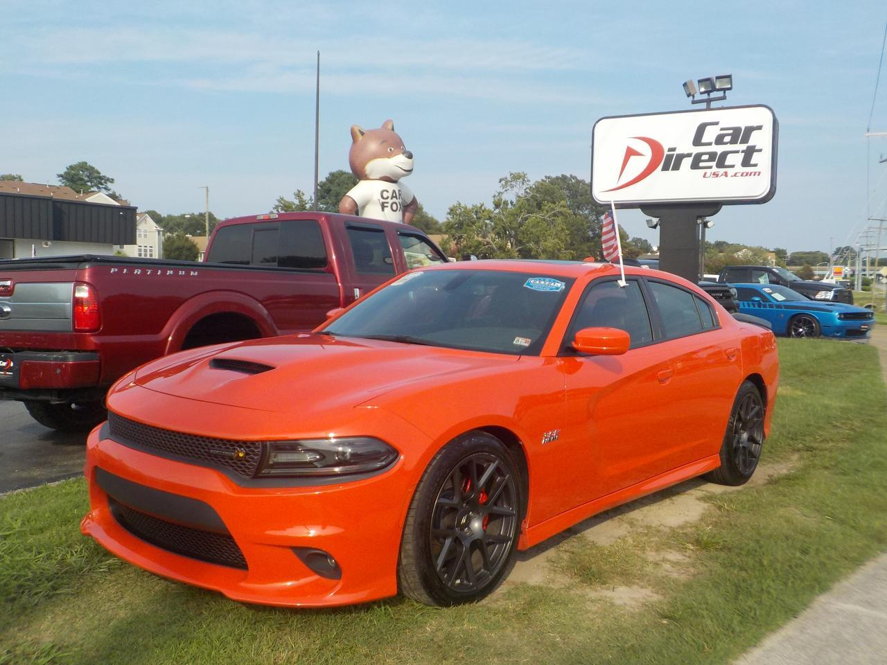 2017 DODGE CHARGER R/T SCAT PACK, BEATS SOUND SYSTEM, REAR SPOILER, LEATHER/SUEDE INTERIOR, NAVIGATION SYSTEM, SUNROOF!