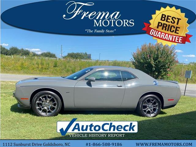 2017 Dodge Challenger GT All-wheel Drive Coupe Goldsboro NC