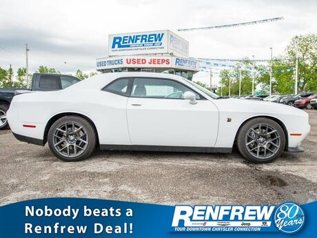 2017 Dodge Challenger R/T 392 Scat Pack Shaker, Low Kms, Manual, Nav, Cooled/Heated Leather Calgary AB