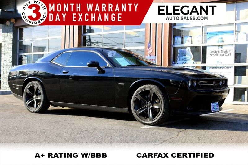 2017 Dodge Challenger R/T Plus - HEMI 5.7 V8 LIKE NEW