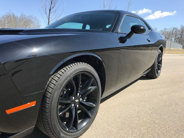 2017 Dodge Challenger SXT Plus Black Appearance Group ~ Alpine ~ Sunroof ~ Navigation ~ Easy Financing ~ 888-299-8130 Sherwood Park AB