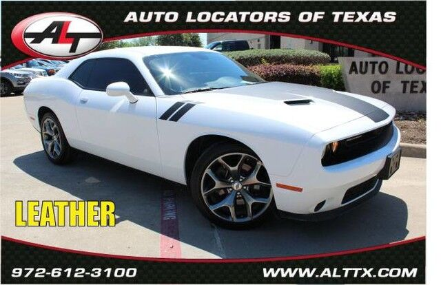 2017 Dodge Challenger SXT Plus with LEATHER Plano TX