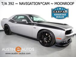 2017_Dodge_Challenger T/A 392 Coupe_*6-SPEED MANUAL, NAVIGATION, HARMAN/KARDON, BACKUP-CAM, TOUCH SCREEN, MOONROOF, LEATHER, CLIMATE SEATS, BREMBO BRAKES, BLUETOOTH, APPLE CARPLAY_ Round Rock TX