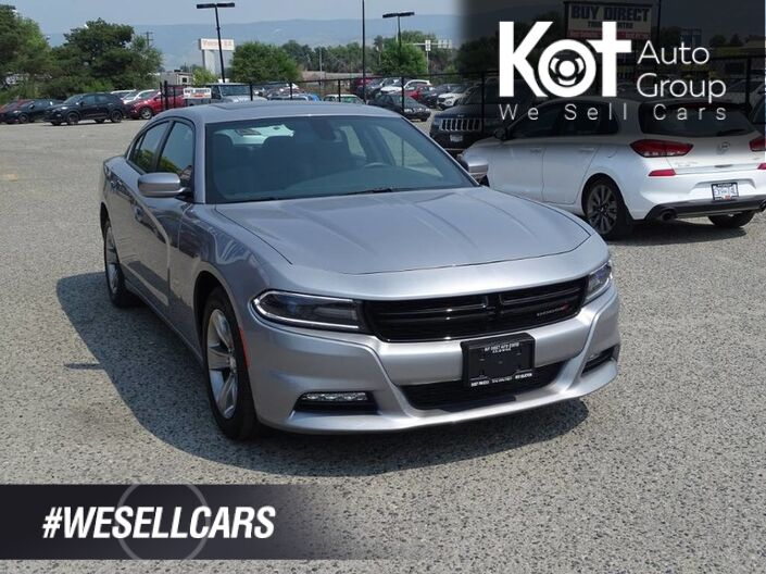 2017 Dodge Charger SXT No Accidents! Low KMS. Cruise Control, Touch screen, Heated seats, Sunroof, Push-to-start Kelowna BC