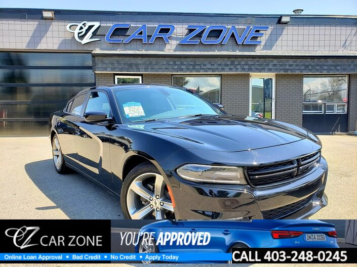 2017 Dodge Charger SXT V6 LEATHER SUNROOF BACKUP CAM Calgary AB