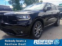 Dodge Durango GT AWD, 5.7L HEMI V8, Dual DVD Screen, Leather Heated Seats, Nav, Backup Camera 2017