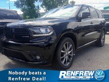 2017_Dodge_Durango_GT AWD, 5.7L HEMI V8, Dual DVD Screen, Leather Heated Seats, Nav, Backup Camera_ Calgary AB