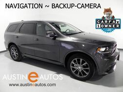 2017_Dodge_Durango GT_*NAVIGATION, BACKUP-CAMERA, 3RD ROW, LEATHER, HEATED SEATS, POWER LIFTGATE, BLUETOOTH AUDIO_ Round Rock TX