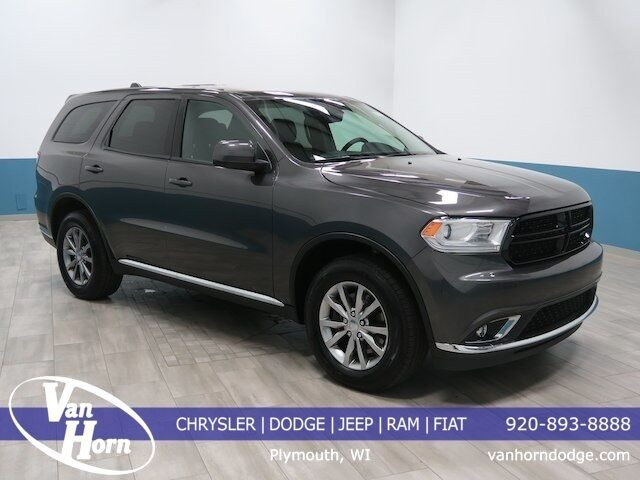 2017 Dodge Durango Police Plymouth WI