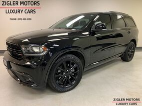 Dodge Durango R/T Black Top AWD Tech Package One Owner Clean Carfax Factory Warranty 2017