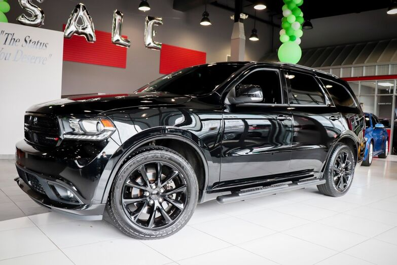 2017 Dodge Durango R/T Technology Black Top Package Sunroof 1 Owner Springfield NJ