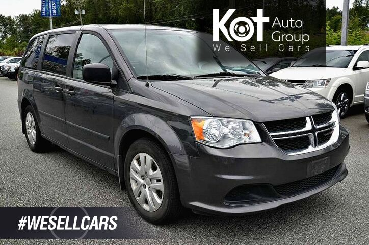 2017 Dodge Grand Caravan 4dr Wgn Canada Value Package. Great family vehicle! No accidents! GPS! Bluetooth! Kelowna BC