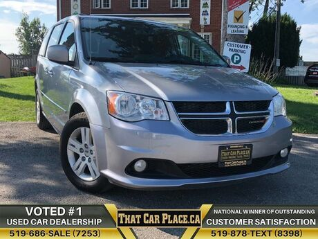 2017 Dodge Grand Caravan Crew-$76Wk-HeatdLeathrSeats&Wheel-DualPowerDoors-Backup London ON