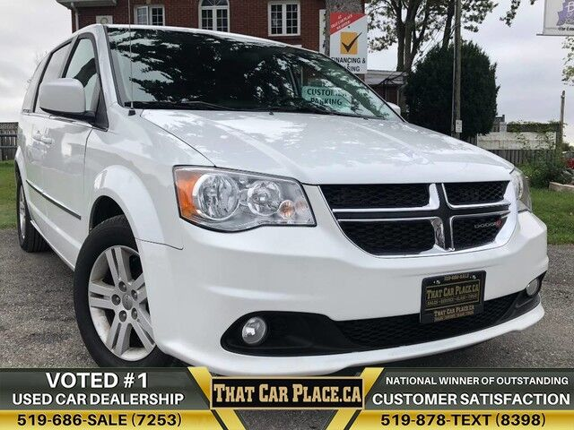 2017 Dodge Grand Caravan Crew Plus-$78Wk-StownGo-BackupCam-PowrLiftGate London ON