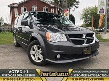 2017_Dodge_Grand Caravan_Crew Plus-$82wk-StowNGo-Backup-HeatdLeathrSts-PowrSideDoors_ London ON