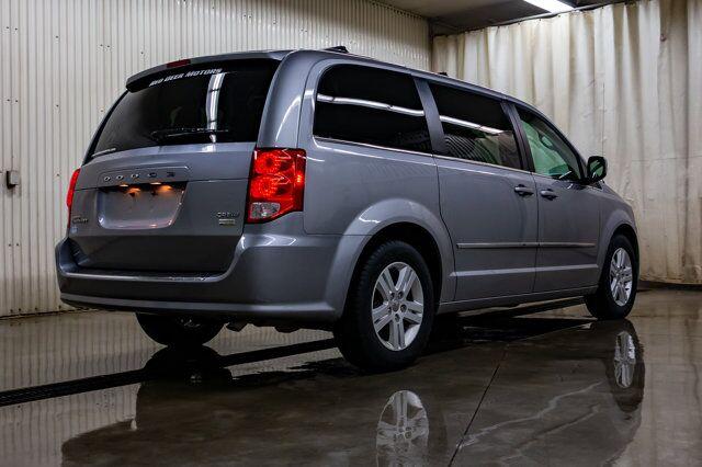 2017 Dodge Grand Caravan Crew Plus Leather BCam Red Deer AB