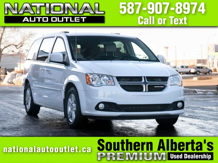 2017 Dodge Grand Caravan Crew Plus Lethbridge AB