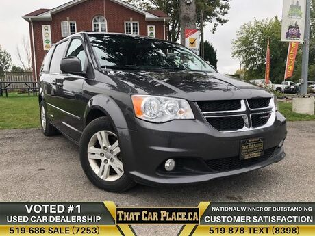 2017 Dodge Grand Caravan Crew Plus|$82wk|StowNGo|Backup|HtdLthrSts|PwrSideDoors London ON